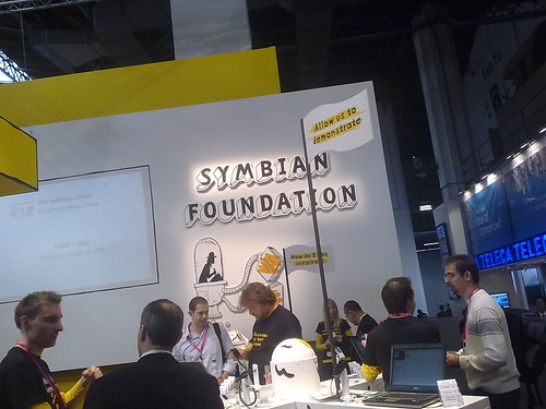 Symbian Foundation stand (by RafeB)