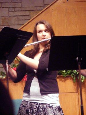 Flutist Tess