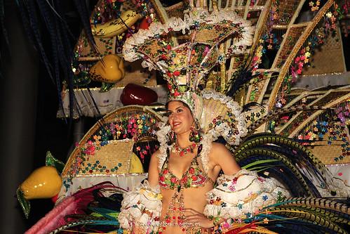 Primera Dama de Honor Carnaval Santa Cruz de Tenerife 2009