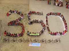 350 Bicycle Ride in Mumbai, India