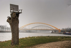Have a seat (Niquitin) Tags: bridge tree netherlands nikon utrecht seat nederland bridges bank boom couch brug hdr merwedekanaal amsterdamrijnkanaal bruggen niquitin d80 nederlandvandaag dickbruinsma