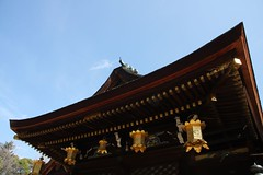 (eyawlk60) Tags: kyoto shrine bluesky  tenmangu