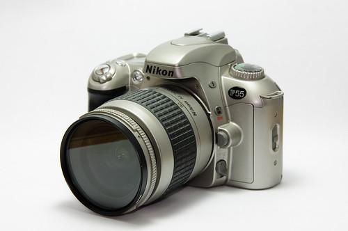 La mia prima Reflex - NIkon F55