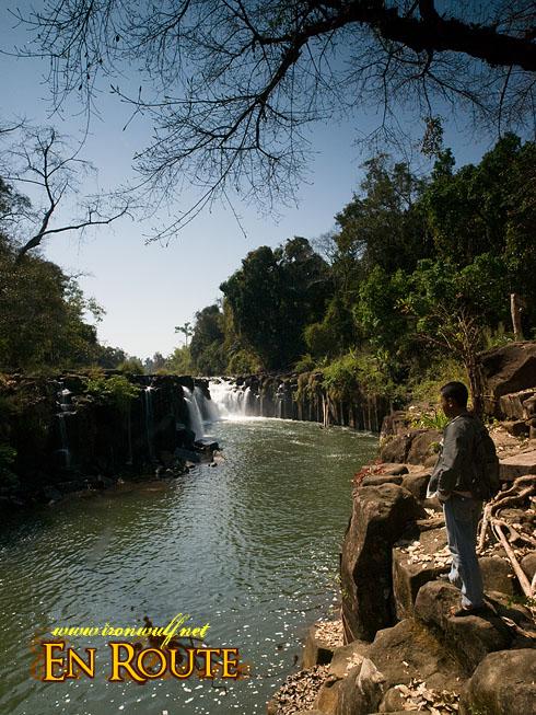 Bolaven Plateau Pa Suam Main falls