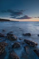 Parton Shore Evening (Nick Landells) Tags: uk sea seascape beach coast surf tokina coastal shore cumbria whitehaven 1224mm parton stbees d80 landscapesshotinportraitformat flickrclassique