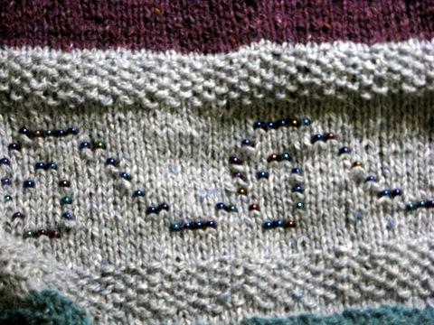 Beads: closeup