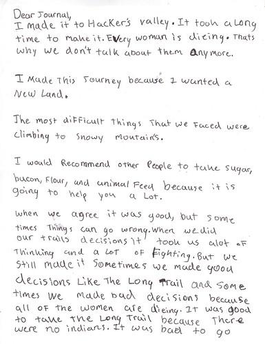 diary entry1