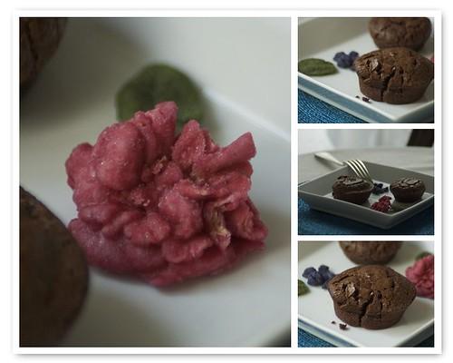 Collage al cioccolato... :)) con una rosa candita!