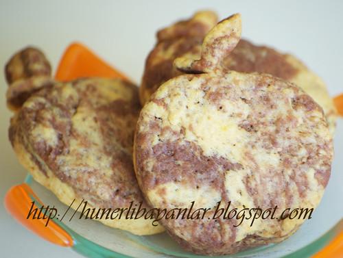 Kakaolu Elma Kurabiye