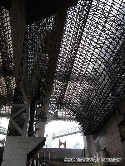 modernistic Kyoto Station