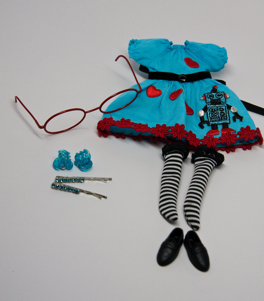 Manna Dress - Robot Love