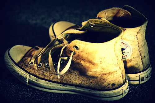 Shoes holgafied