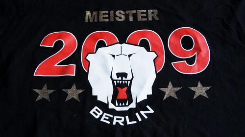DEL deutscher Meister 2009 - EHC Eisbären Berlin