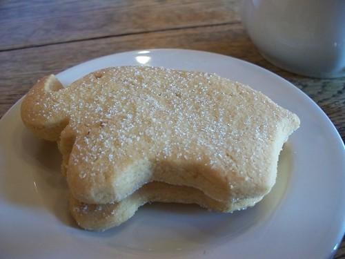 Elephant Shortbread