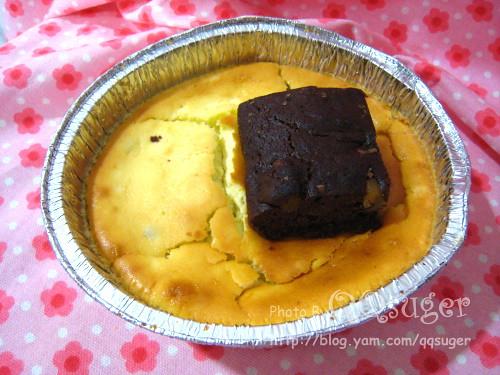 你拍攝的 乳酪蛋糕.布朗尼。