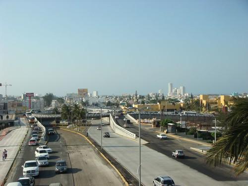 Boca del Rio and Veracruz skyline...