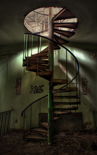 stairs in HDR