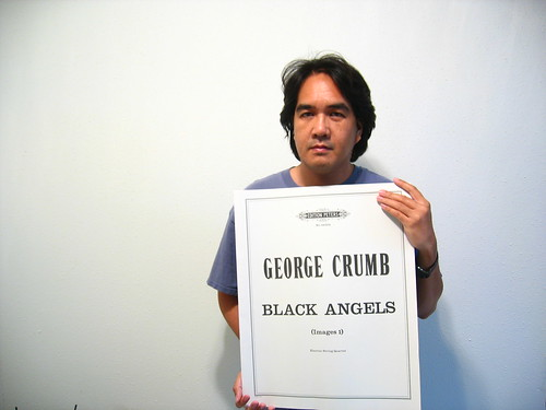 George Crumb, Black Angels score