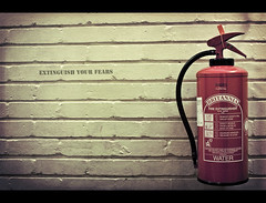 Extinguish your fears (edmundlwk) Tags: wall fire xpro extinguisher hurst sigma30mmf14 canon450d edmundlim