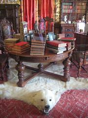 Le bureau d'un ancien roi