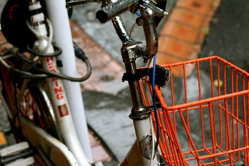 Friday: Cute Bicycle in the Rain