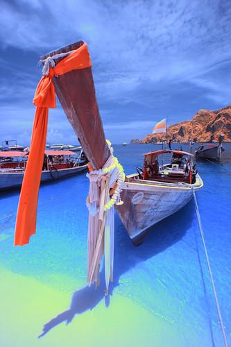 Phuket | LongTailed Boat @ Phi Phi Island