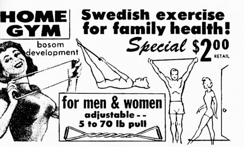 Home Gym Ad