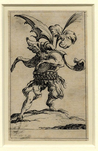 Set of twelve grotesque figures representing the twelve months of the year 1638 Denis Boutemie a