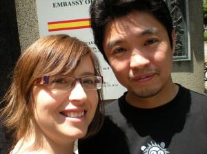 Nuria y Hideo