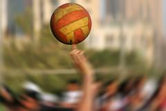 Spin (YOUSEF AL-OBAIDLY) Tags: ball spin مركزالعملالتطوعي يوسفالعبيدلي المعرضالعامالسابع