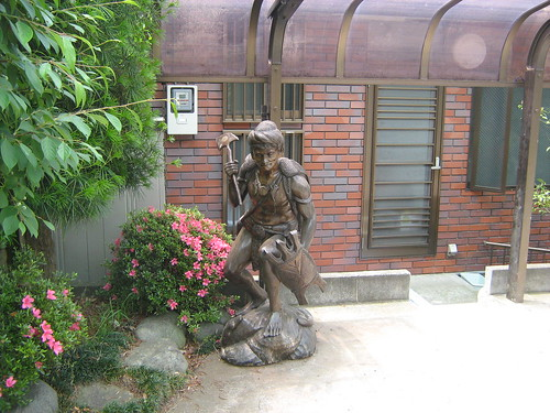 Statue outside Sagamiko