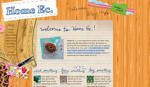 home ec website