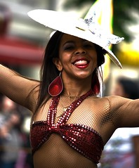 045 (_Dadita_) Tags: carnival people music woman berlin sexy colors happy dance nikon joy happiness dieter der cultures 2009 karneval kulturen d80 genschow