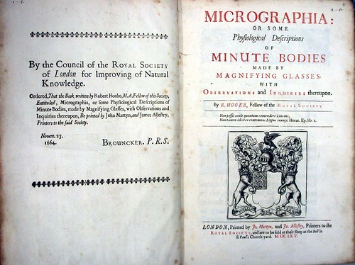 Title-page and Royal Society imprimatur