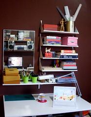 HomeOffice(s) durante o dia (carolcani) Tags: home office pc mac crafts macbook
