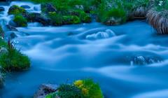 [フリー画像] [自然風景] [河川の風景] [青色/ブルー]        [フリー素材]