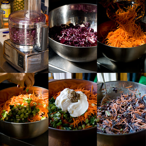 Red cabbage and carrot coleslaw the good mood food blog this is my plain coleslaw recipe but feel free to experiment with it add your own ingredients and ideas forumfinder Gallery