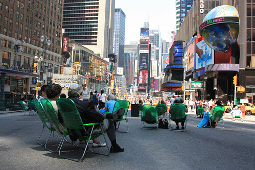 Times Square, new pedestrian mall