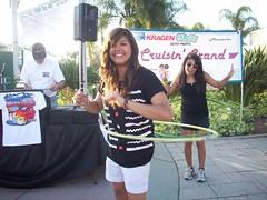 Lanie and Tahlie hula hoopin'