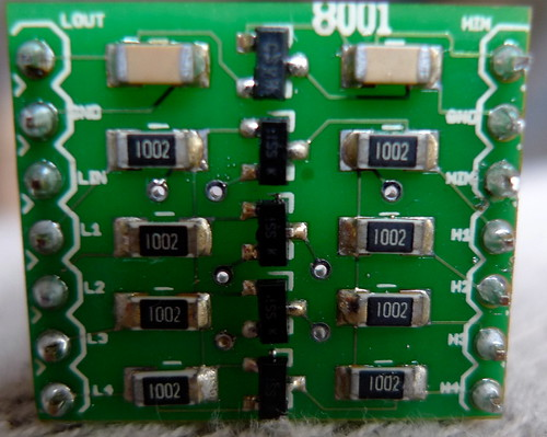 bi-directional level converter board