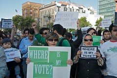 Where is my vote? - Iran election protest at U...