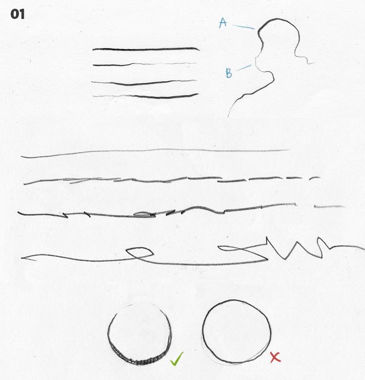 strichführung - zeichnen - 01