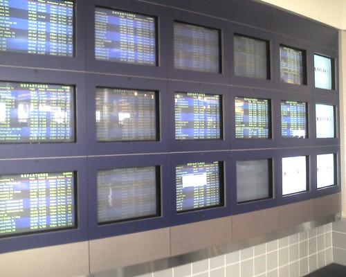 Dying CRT Monitors at MSP