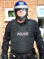 Riot Police Officer