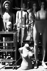 umani inanimati (silviacafarelli) Tags: woman baby man art scale strange donna mannequins dolls basket arte legs market surreal inanimate things storage uomo scala selling mercato carrello strano manichini bambole gambe inanimato cose bambino contrasto vendita surreale complesso ammasso