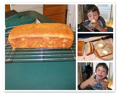 Banana bread - step four