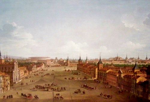 Antonio Joli, Vue de Madrid  1750, Académie royale des beaux-arts de San Fernando, Madrid