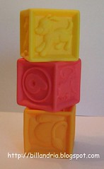 Parents rubber blocks