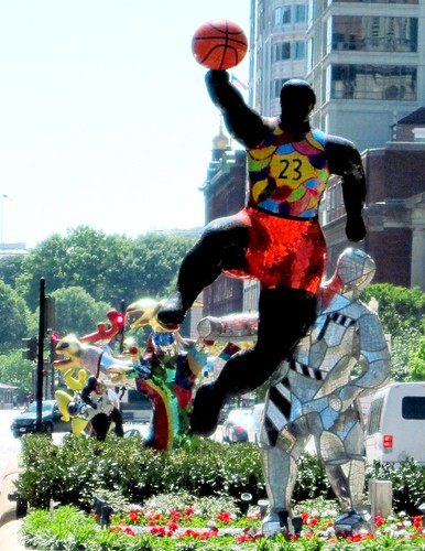 Basketball Player #23 by Niki de Saint Phalle (photo c2010 FK Benfield)