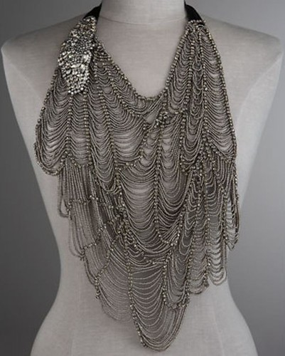 Vera Wang SS10 Web Butterfly Necklace 06